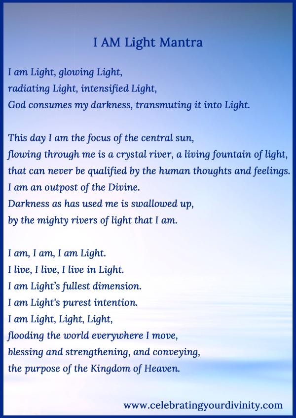 I AM Light Mantra